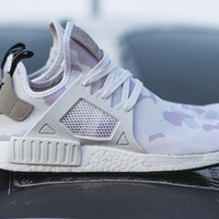 "ADIDAS NMD XR1 ""DUCK CAMO"" WHITE BA7233 US MENS SZ 4-11 kanye"