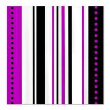 Purple and Black Vertical Stripes Shower Curtain> Shower Curtains> We Tees You