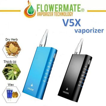 Flowermate V5.0X Vaporizer for Wax/Dry Herb