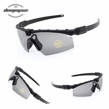 Polarized Tactical Glasses Military Goggles Bullet-proof Army Sunglasses With 3 Lens Men Shooting Eyewear Motorcycle Gafas