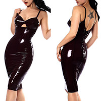 Catwoman Leather Dress