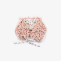 Anais & I Fuzzy Neck Warmer - Perfect Pink - FINAL SALE