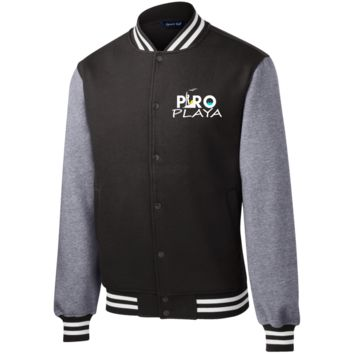 Sport-Fleece Letterman Jacket