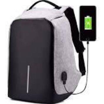 Business Laptop Backpack, Slim Anti Theft Computer Bag, Water-resistant USB Charging Backpack