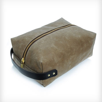 Turnberry Waxed Canvas Shoebag