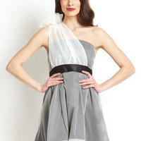 ideeli | RYU Tulle One-Shoulder Dress