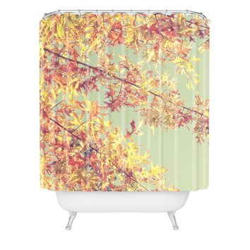 Shannon Clark Autumn Shower Curtain