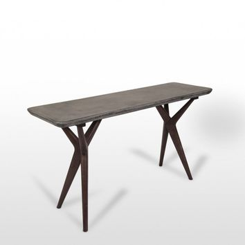 Modrest Grey Console Table