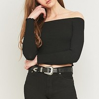 Urban Outfitters Lettuce Edge Off-The-Shoulder Top - Urban Outfitters