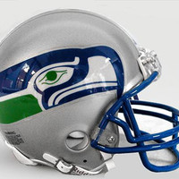 Riddell NFL Mini Replica Throwback Helmet - Seahawks 83-01