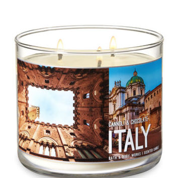 CANNOLI & CHOCOLATE3-Wick Candle