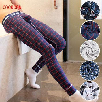 COCKCON  brand Men Long Johns Underwear U convex pocket mens wrestling singlet thermal underwear Almost  Action Boxer