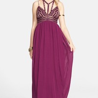 Women's Free People 'Sacred Geometry' Maxi Dress,