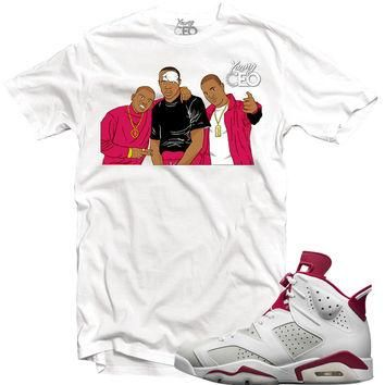 "Young Ceo-Jordan 6 ""Alternate"" Paid In Full White Tee"