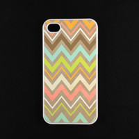 Iphone 4s Case - Tribal Chevron Iphone Case, Iphone 4 Case