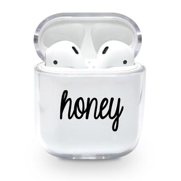 Honey Airpods Case