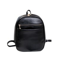 Backpacks Rucksacks preppy leather purse clutch famous School