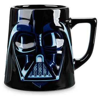 disney store ceramic star wars darth vader mug 20 oz new