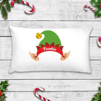 Personalized Elf Hat Pillowcase