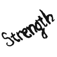 Strength Tattoo Set