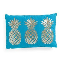 Thro by Marlo Lorenz Sequin Pineapple Pillow