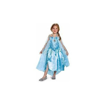Disney Frozen Elsa Classic Toddler Halloween Costume With Locket 3T-4T