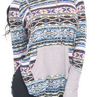 KNIT PULL OVER TOP