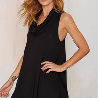 Love Buzz Cowl Neck Dress