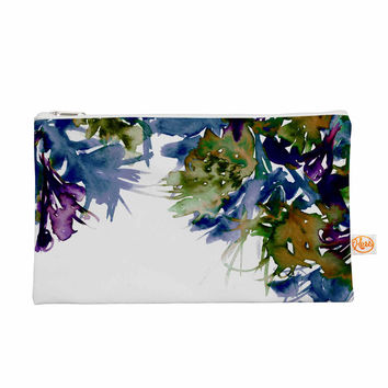 "Ebi Emporium ""Floral Cascade 4"" Purple Green Everything Bag"