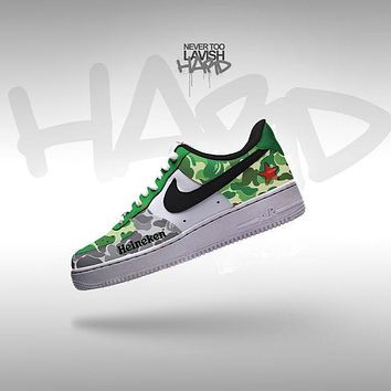 Heineken custom air force one