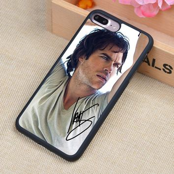 The Vampire Diaries Ian Joseph Phone Case Skin Shell For iPhone 6 6S Plus 7 7Plus 5 5S 5C SE 4 4S Rubber Soft Cell Housing Cover