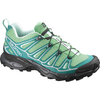 Salomon X Ultra 2 Hiking Shoe - Women's Wasabi/Peacock Blue/Igloo Blue,