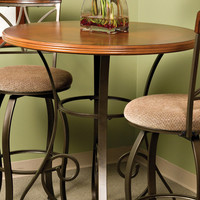"Powell Hamilton 36"" Round Cherry Pub Table"