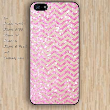iPhone 6 case chevron pinks up iphone case,ipod case,samsung galaxy case available plastic rubber case waterproof B098