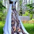 NEW Camo Wedding Gown/dress SATIN camo- MADE ONLY IN USA!