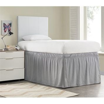 Whitehurst Ruffled Dorm Sized Bed Skirt