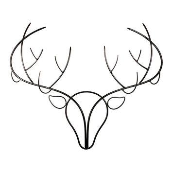 Deer Stag Wall Organizer