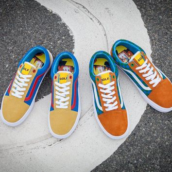 VANS x GOLF WANG OLD SKOOL PRO Running Shoes 35-44