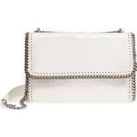 Stella McCartney Mini Oleo Deer Faux Leather Shoulder Bag | Nordstrom