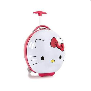 Hello Kitty Round Luggage Case