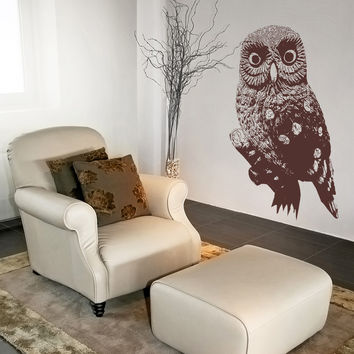 Vinyl Wall Decal Sticker Australian Scooty Owl #OS_AA497