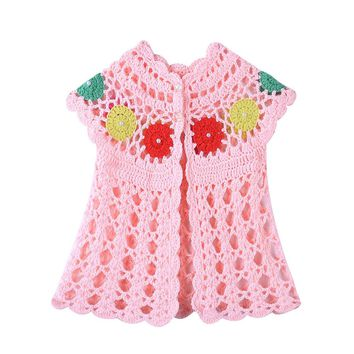 Baby Girls Knitted Sweater