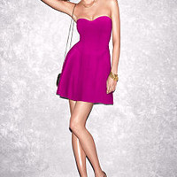 Strapless Ponte Push-Up Dress - Victoria's Secret