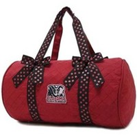 "Licensed University of Alabama 18"" Duffle Bag Crimson Rolltide Bama (red)"