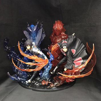 Naruto Sasauke ninja Anime  Figure Sasuke Itachi PVC Action Figure Model Toys  Figure Toys For Children    AT_81_8