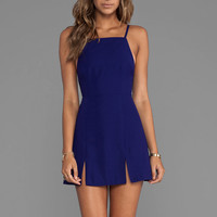 BEC&BRIDGE Willow Split Dress in Indigo
