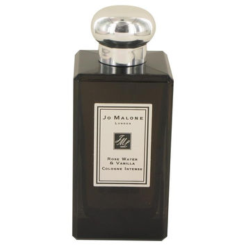 Jo Malone Rose Water & Vanilla by Jo Malone Cologne Intense Spray (Unisex Unboxed) 3.4 oz