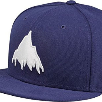 BURTON Boys You Owe New Era Hat, Web, 6 3/8