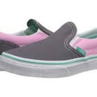 Vans K Classic Slip On-(Pop)Rabbit/Prism Pink