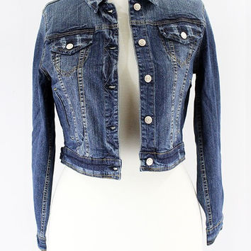 Stretch Washed Denim Jacket